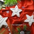 Гипсовые фигурки новогодние, рождественские, елочные игрушки - подвески