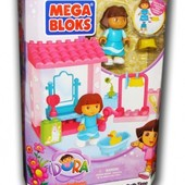 Распродажа- Конструктор Дора в саду ,  Дора в ванной  Mega Bloks