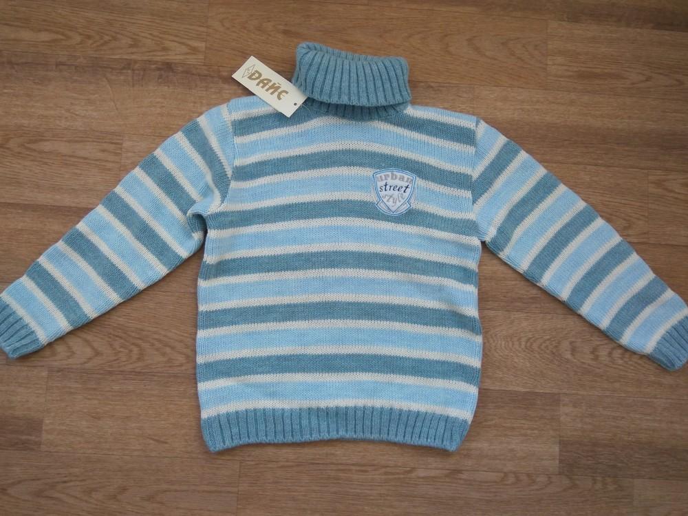 Шерстяной свитер от тм дайс в наличии 110-122 фото №2