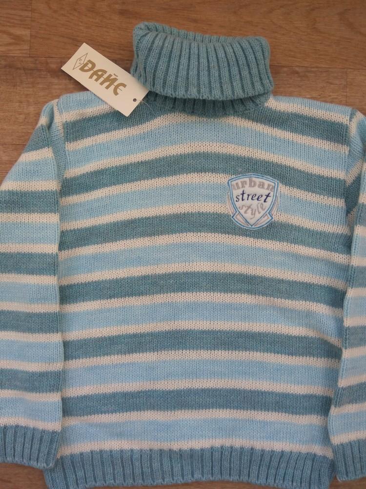 Шерстяной свитер от тм дайс в наличии 110-122 фото №3