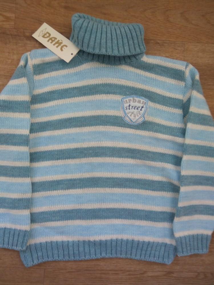 Шерстяной свитер от тм дайс в наличии 110-122 фото №4