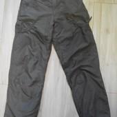 Штаны Pocopiano Германия плащевка на хлопковой подладке рост 158 см