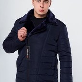 Зимняя мужская куртка на меху до 58 размера