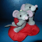 Мышки на сердечке новые