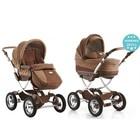 Акция!Универсальная коляска Geoby Baby C706- r308 - lux коричневая