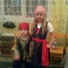 Шикарный костюм разбойницы, разбойница, пиратка прокат киев