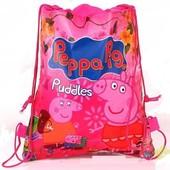 Детский рюкзачок Рюкзак Свинка Пеппа Рюкзачок 3 вида