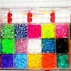 Loom Bands набор 4400 радужных резинок, для плетения браслетов + аксесуары. оптом розница