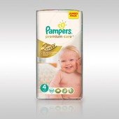 Pampers Premium care 4 (7-14 кг), 66 шт! Днепропетровск!