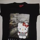 продам футболочку Hello Kitty девочке 9-10лет. рост 140см. 100% хлопок.