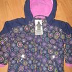 Классные  деми курточки девочкам в наличии Германия размеры 98,104,110