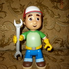 Игрушка Большая говорящая кукла Умелец Мэнни,  Mattel disney.