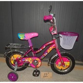 Детский двухколесный велосипед Мустанг Винкс Mustang Winks 12, 14,16,18,20 д