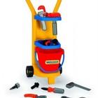 Игровой набор Wader 10776 Тележка Маленький механик-