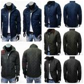 Стеганая мужская весенняя куртка