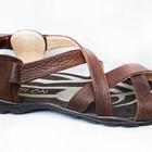 Мужские кожаные сандалии и тапочки  оптом от производителя