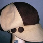 Новая кепка. Шерсть!