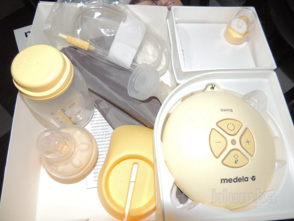 Двухфазный электрический молокоотсос medela swing maxi(040.0013), со склада фото №3