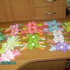 Интересные бантики для девочек из репсовых лент!!!!