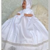 Крестильная рубашка для мальчика или девочки Жемчужина