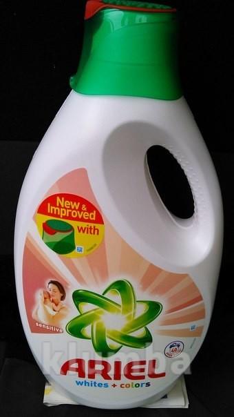 Ariel gel sensitive - гель сенситив для дитячого одягу 2. 6л 40 прань фото № d09db9a792286