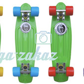 Скейтборд/скейт Penny Board (Пенни борд) Fish: Green, до 80кг