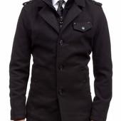 Мужское кашемировое весенние пальто
