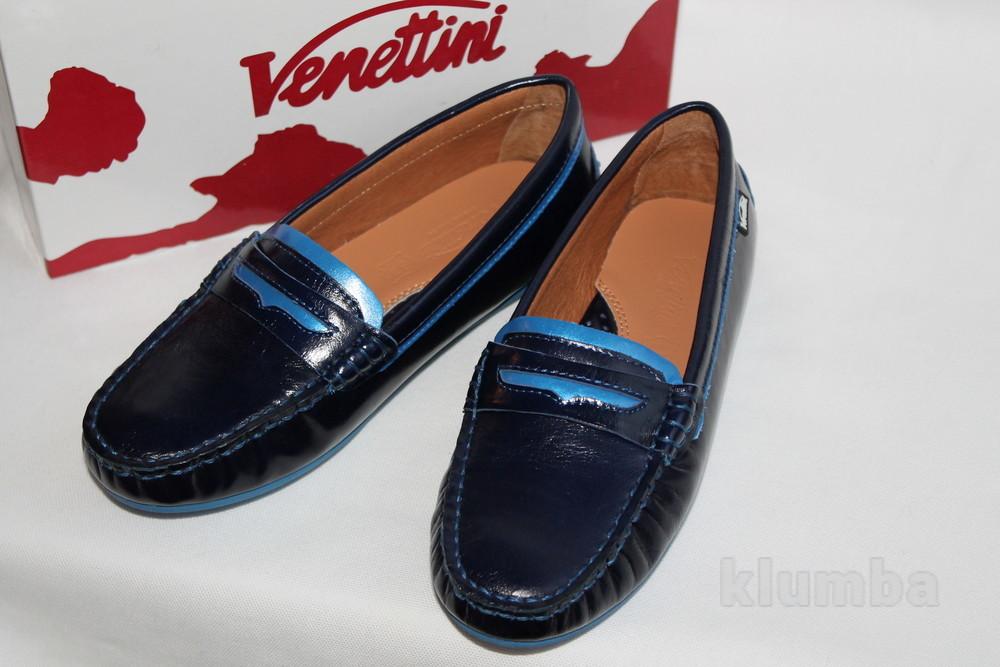Кожанные мокасины фирма venettini размер 34 по стельке 22 см фото №1