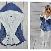 Парка женская джинсовая, куртка женская ,парка молодежная