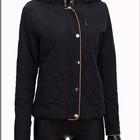 Женская весенняя куртка черная