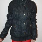 крутая куртка кожзам . размер л