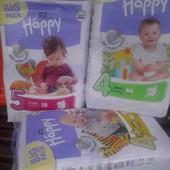 Памперси Happy хеппи,хеппі.