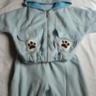 Прикольный костюм с мишкой на попе на рост 75-80 см.