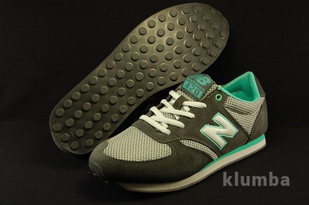 Летние кроссовки NB 420.Натуральная замша+сетка! фото №1
