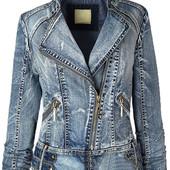 Демисезонная джинсовая куртка косуха