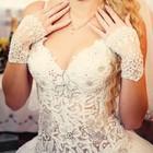 Продам свадебное платье в хорошем состояние.