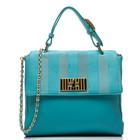 Женская сумка Fendi бирюзовая. Точная копия оригинала. VirnRich