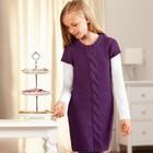трикотажное платье 158\164