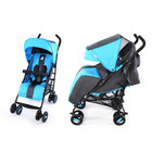 Коляска прогулочная Carrello Corsa crk-1401 dark grey+blue+bleck