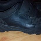 Кожаные кроссовки Clarks,стелька 21см