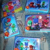 Новинка Герои в масках PJ masks пазлы картонные 35-70 эл много видов