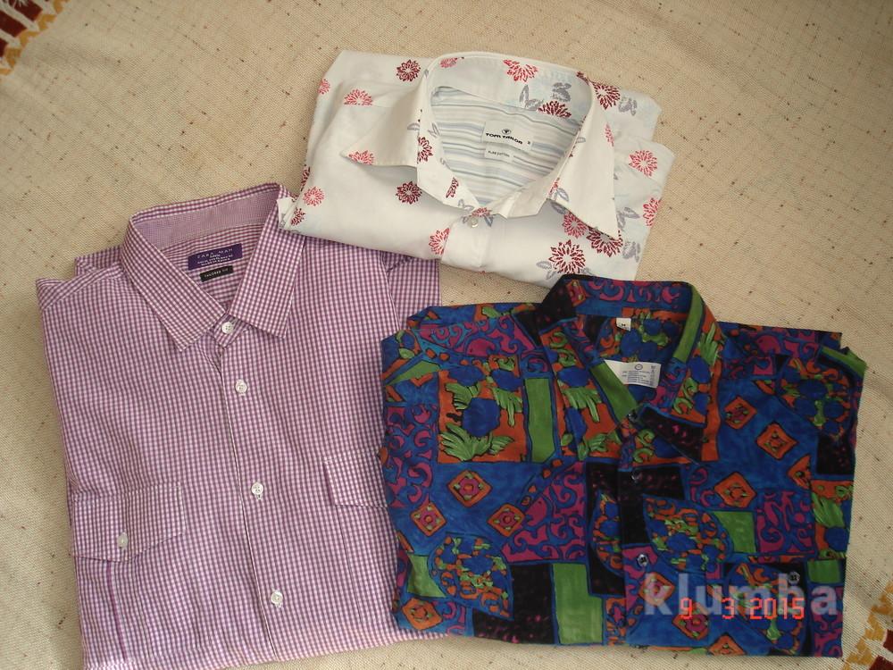 Рубашка сорочка мужская zara , xl фото №7