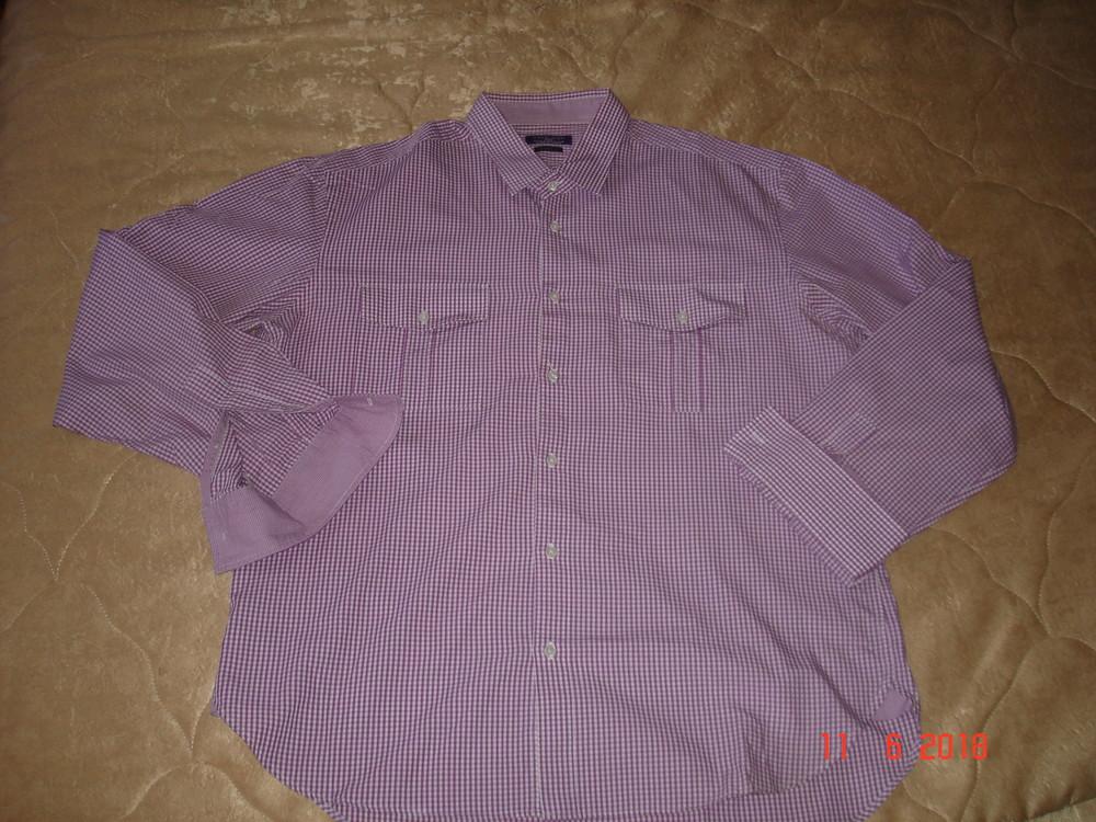 Рубашка сорочка мужская zara , xl фото №9