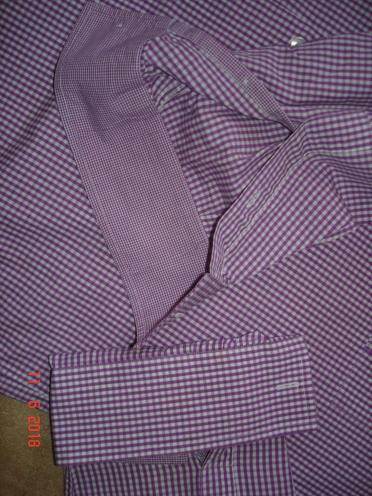 Рубашка сорочка мужская zara , xl фото №10