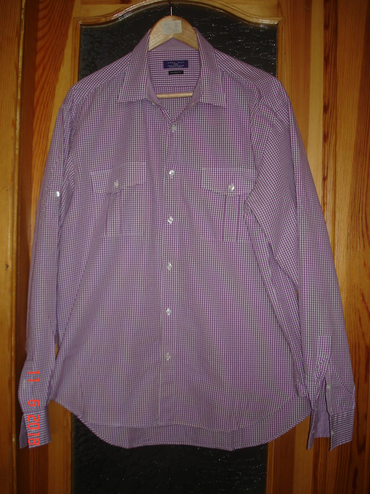 Рубашка сорочка мужская zara , xl фото №11