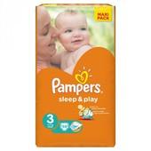 Подгузники Pampers Sleep & Play 3,4,5