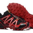 Кроссовки Salomon Speedcross 3 - черный+красный
