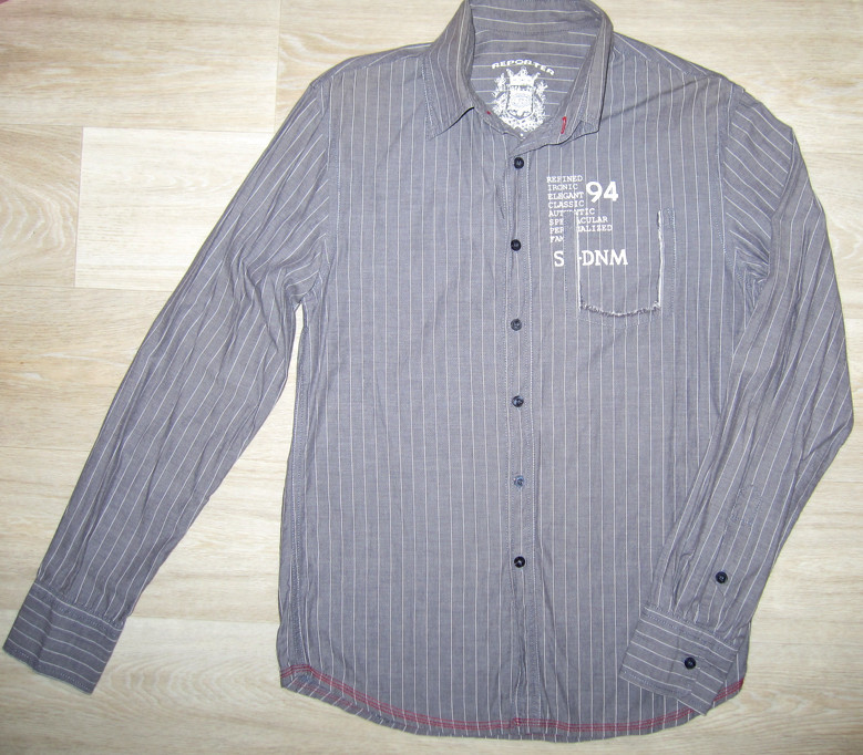 Рубашка мужская Reporter company фото №1