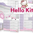 Мебель Китти ,мебель для детской Китти, мебель Китти в спальную комнату