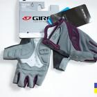 Giro Tessa Charcoal Plum велосипедные перчатки женские / подростковые без пальцев